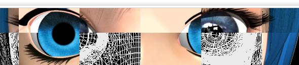 3D Anime Eyes