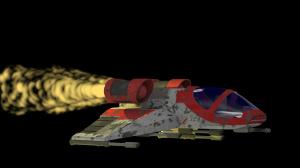 Rocket Blast Particle System Demo