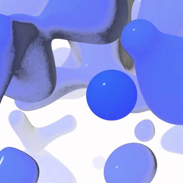 Toonami Bump: Blue Plastic